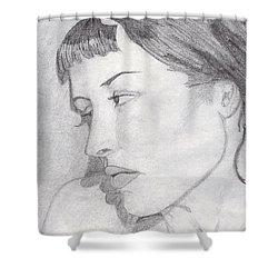 Regret Shower Curtain