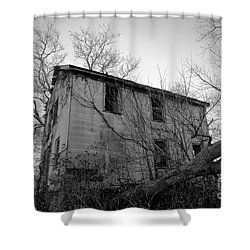 Regrowth Shower Curtain by Amanda Barcon