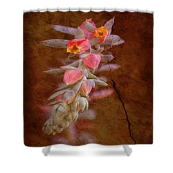 Regrowth Shower Curtain by Holly Kempe