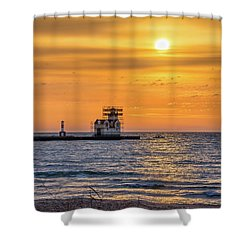 Shower Curtain featuring the photograph Rehabilitation Rising by Bill Pevlor