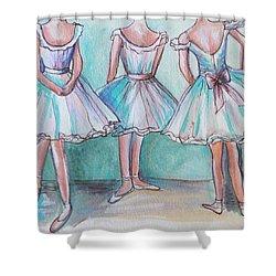 Rehearsal Shower Curtain