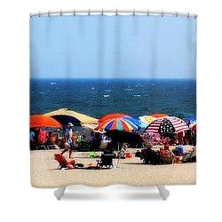 Rehobath Beach Shower Curtain