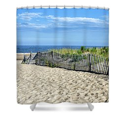 Shower Curtain featuring the photograph Rehoboth Delaware by Brendan Reals