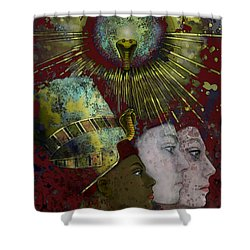 Reincarnate Shower Curtain