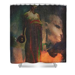 Reincarnation Shower Curtain by Alexis Rotella