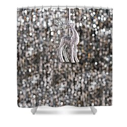 Shower Curtain featuring the photograph Reindeer  by Ulrich Schade