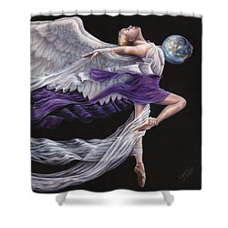 Rejoice II Shower Curtain