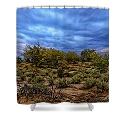Shower Curtain featuring the photograph Rejuvenation Op19 by Mark Myhaver