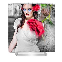 Shower Curtain featuring the photograph Relationship Problems by Jorgo Photography - Wall Art Gallery