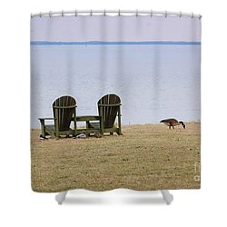 Relax Shower Curtain by Debbi Granruth