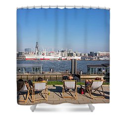 Relax On The Elbe Shower Curtain