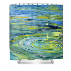 Relaxation Shower Curtain by Evelina Popilian