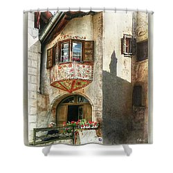 Shower Curtain featuring the photograph Relaxing Evening Sun  by Hanny Heim