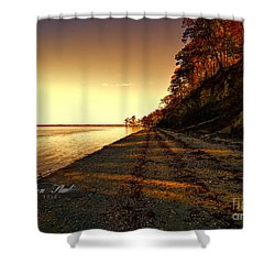 Relaxing In Surry Virginia Shower Curtain by Melissa Messick