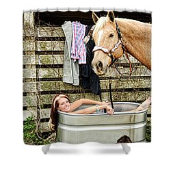 Relaxing Shower Curtain