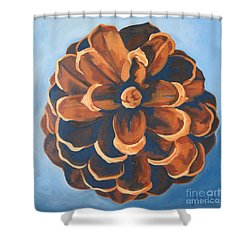 Shower Curtain featuring the painting Released by Erin Fickert-Rowland