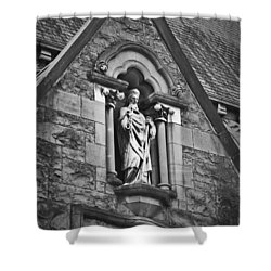 Religious Icon Nenagh Ireland Shower Curtain by Teresa Mucha