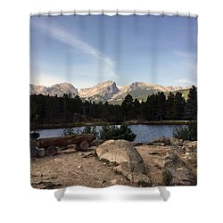 Shower Curtain featuring the photograph Remain Silent by Silke Brubaker