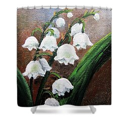 Remember The Scent Shower Curtain by Vesna Martinjak
