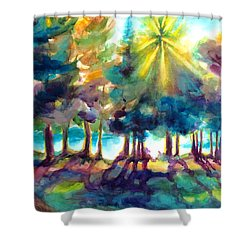Remember The Son Shower Curtain