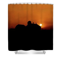 Shower Curtain featuring the photograph Remember The Sun by Robert Geary
