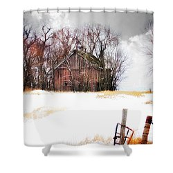 Shower Curtain featuring the photograph Remember When by Julie Hamilton