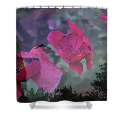 Remembered Shower Curtain by Ellery Russell