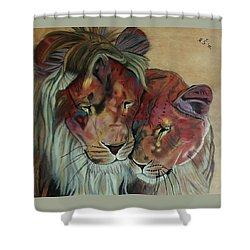 Remembering Cecil Shower Curtain