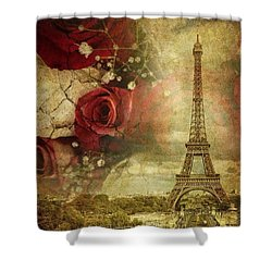 Remembering Paris Shower Curtain