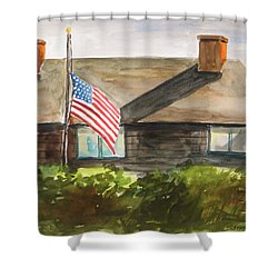 Remembering Patriot Day Shower Curtain by John Williams