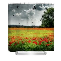 Remember #rememberanceday #remember Shower Curtain