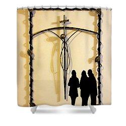 Remembrance Shower Curtain by Al Bourassa
