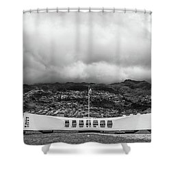 Shower Curtain featuring the photograph Remembrance by Colleen Coccia