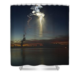 Remi Do Doso Shower Curtain