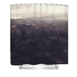 Cusco From Above Shower Curtain