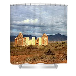 Remnants Of Life Shower Curtain
