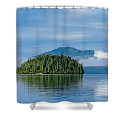 Remote Beauty Shower Curtain