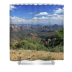 Remote Vista Shower Curtain