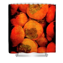 Renaissance Persimmons Shower Curtain