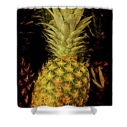 Renaissance Pineapple Shower Curtain