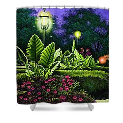 Rendezvous In The Park Shower Curtain