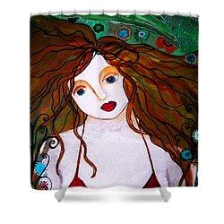 Rennaissance Mermaid Shower Curtain by Pristine Cartera Turkus