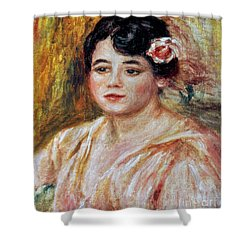 Renoir: Adele Besson, 1918 Shower Curtain