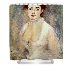 Renoir: Madame Henriot Shower Curtain by Granger