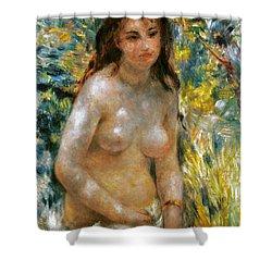 Renoir: Torso, C1876 Shower Curtain by Granger