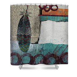 Reorienting  Shower Curtain