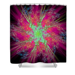 Reprovideo Shower Curtain