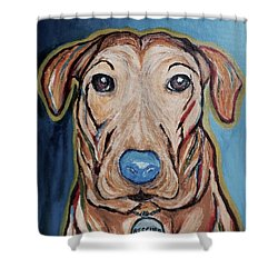 Rescued Shower Curtain by Victoria Lakes