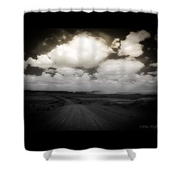Reservation Road Shower Curtain