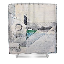 Reservoir  Shower Curtain by Cliff Spohn